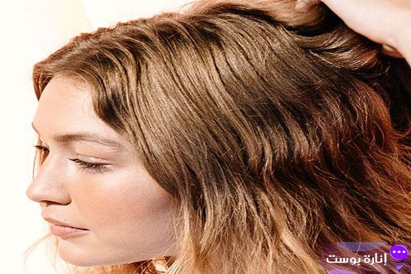 تنعيم وترطيب الشعر