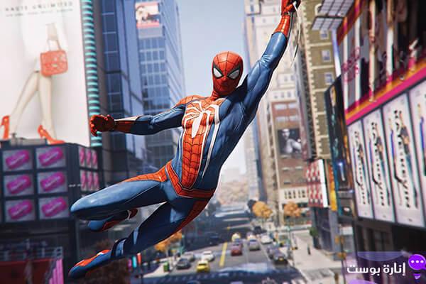 طريقة اللعب في لعبة Spider Man 4