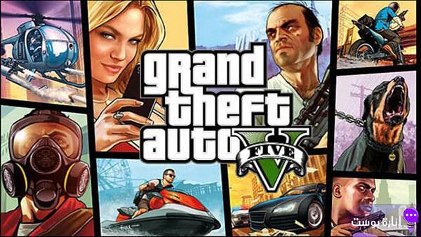 تحميل لعبة جاتا 5 GTA للكمبيوتر مجاناً بروابط مباشرة وسريعة